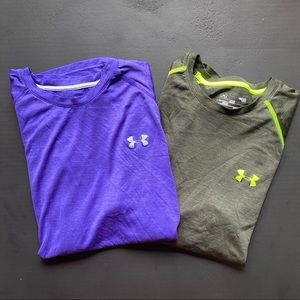 Bundle of Under Armour Large Athletic Tees